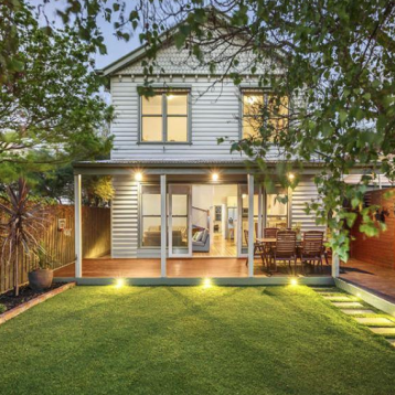 This home's exterior was painted to provide a fresh and neat finish before going to Auction.