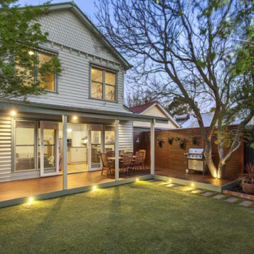 Exterior painting of this weatherboard home was a nice touch before the owners put the home up for Auction.